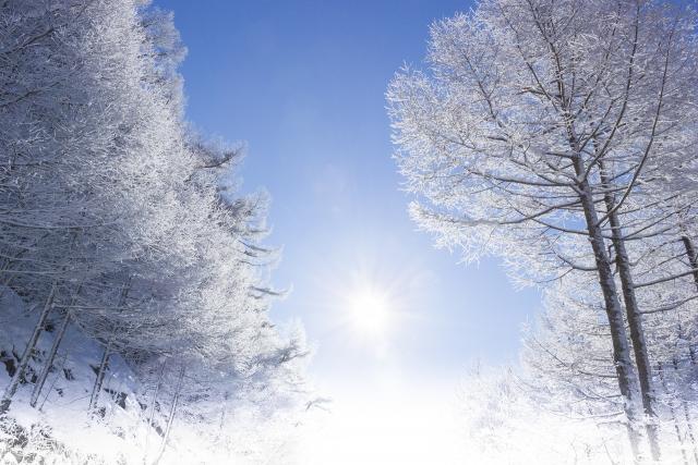 雪景色 真冬 大寒