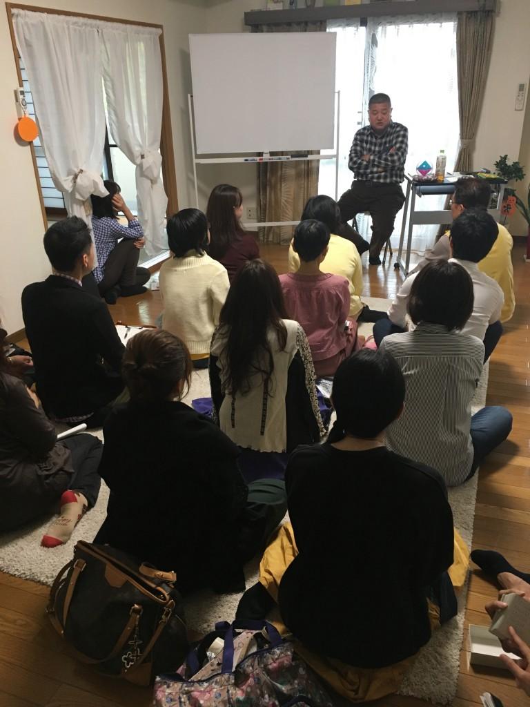 第一回「カタカムナ」セミナーの開催風景